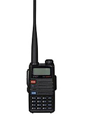 Walkie Talkie TYT TH-UVF11 256CH VHFUHF 136-174400-520MHz 5W VOX FM Radio Dual PTT SOS Emergency Talk Around DTMF Shift Repeater