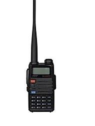 Walkie talkie tyt th-uvf11 256ch vhfuhf 136-174400-520mhz 5w vox fm radio ptt sos dual hablar de emergencia alrededor de repetidor de