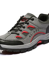 Для женщин Спортивная обувь Удобная обувь Полиуретан Весна Осень Повседневный На плоской подошве Серый Зеленый Хаки На плоской подошве