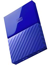 Wd wdbynn0020bbl-cesn 1tb disque dur externe 2,5 pouces bleu usb3.0