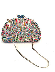 Women Rhinestone Event/Party/Evening Clutches Bag