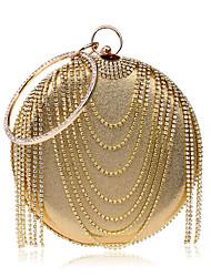 L.WEST Women's fashion tassel Dinner Bag