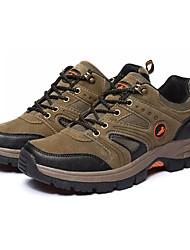 Для женщин Спортивная обувь Удобная обувь Полиуретан Весна Осень Для прогулок Для пешеходного туризма Шнуровка На плоской подошвеСерый