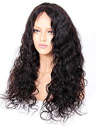 Premier®body onda laço cheio cabelo humano perucas-glueless 130% densidade 100% não processado brasileiro virgem remy completo laço