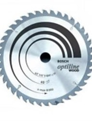 The Bosch 12 Inch Alloy Circular Saw Blade Is 305 X T120 Cutting Wood / 1 Piece
