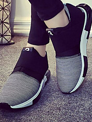 Men's Sneakers Comfort Breathable Mesh Tulle Fabric Spring Daily Comfort Black Gray Blue Flat