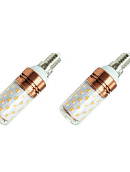 8W LED a pannocchia T 60 SMD 2835 800 lm Bianco caldo Bianco V 2 pezzi