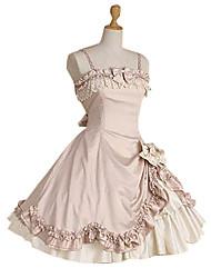One-Piece/Dress Gothic Lolita Princess Cosplay Lolita Dress Fashion Short Sleeve Short / Mini Dress For