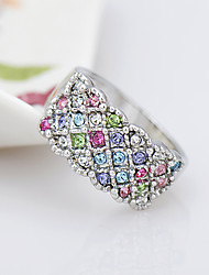 Women's Ring Jewelry Fashion Euramerican Rhinestone Alloy Jewelry Jewelry For Birthday Event/Party Other