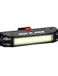 Luci bici Luce posteriore per bici LED LED Ciclismo All'aperto Resistente all'acqua Luce LED USB Batteria al litio 100 Lumens USBBlu