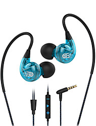 Langsdom Sp90 Anti Noise Ear Headset And Microphone Volume Control Wired Headset