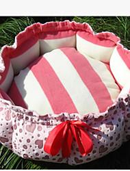 Cat Dog Bed Pet Mats & Pads Solid Cartoon Waterproof Portable Soft Tent Random Color