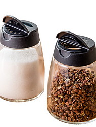 Home Glass Barbecue Seasoning Bottle Cream Pepper Bottle Spice Box Seasoning Tank Set
