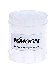 Kkmoon 25pcs airbrush wegwerfbare eyedroppers plastikpipettenaugenschrotter für flüssigkeitsübertragung und airbrushfarbe