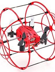 Drone M66 4 Canaux 6 Axes - Quadri rotor RC Télécommande