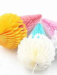 6inch Ice Cream Honeycomb Paper Craft Lantern Flower Ball Married Mariage Easter Wedding Decoration Party Supplies Window Decor