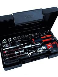 MXM hyvä täysi työkalusarja 27 -6.3mm sarja hihassa
