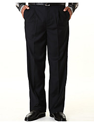 Men's Low Rise strenchy Business Pants,Street chic Loose Solid