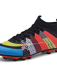 Soccer Shoes Men's Athletic Shoes Waterproof Comfort Sport Synthetic All Seasons Athletic  Waterproof Comfort Sport Black Green Blue Flat