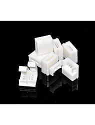 Connecteur sans soudure 5 pcs à 4 broches pour lampes à rayons LED imperméables simples à 10 mm 5050