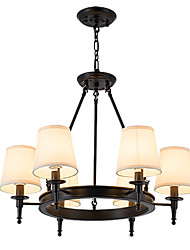 LightMyself Flush Mounted Fixture Chandelier 6 Lights One Light Two Style Modern/Contemporary Traditional/Classic Rustic Painting