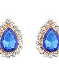 Mujer Pendientes cortos Pendientes colgantes Pendients de aro Cristal Opal imitación Diseño Básico Diseño Único Logo Diamantes Sintéticos