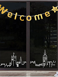 Welcome/Welcome Flowers/English Letter Banners/Store Porches