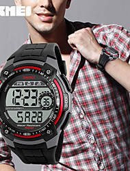 Women's Men's Waterproof Sports Watches Men Multifunction Personalized LED Digital Watch Student Big Dial Black Wristwatches