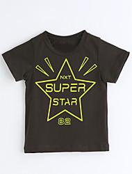Jungen T-Shirt Geometrisch Baumwolle Kurzarm