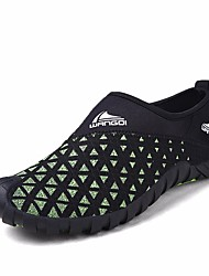 Men's Athletic Shoes Comfort Tulle Spring Casual Water Shoes Comfort Green Blue Flat
