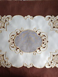 30x50cm Embroidery Placemat Beauty Cutting Work Doilies