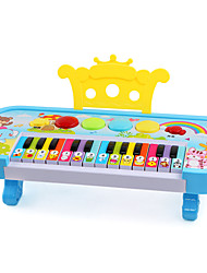 LED Lighting Dollhouse Accessory Piano Plastics Kid