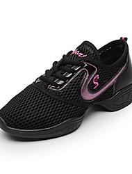 Keine Maßfertigung möglich Damen Modern Stoff Sneakers Im Freien Applikation Flacher Absatz Weiß Fuchsia Schwarz und Gold Schwarz/Rot5 -