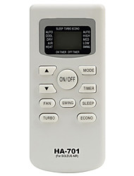 HA-701 Replacement for SOLEUS AIR Conditioner Remote Control works for TM-PAC-08E3 TM-PAC-12E4 TM-PAC-10E3