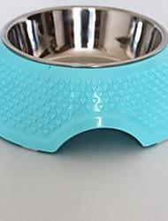 Cachorros para cachorros&Alimentação portátil corando rosa azul verde