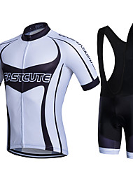 Fastcute Cycling Jersey with Bib Shorts Bike Bib Shorts Shirt Sweatshirt Jersey Jersey + Shorts Jersey + Bib Shorts Jacket Shorts Tops