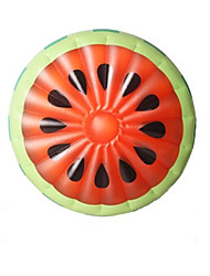 Rainbow Ring Floating Pizza Inflatable Floating Bed Watermelon Pineapple Floating Row Variety