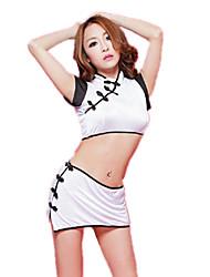 Women's Latest Classical Cheongsam Sexy Lingerie Temptations