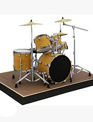 DIY KIT 3D Puzzles Paper Model Toys Square Musical Instruments Drum Set 3D DIY Furnishing Articles Simulation Not Specified Pieces