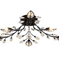Lightmyself 6 luci soffitto a cristallo soffitto luci per soggiorno camera da letto sala da pranzo