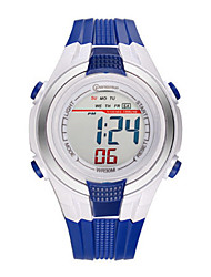 Kid's Sport Watch Digital Water Resistant / Water Proof Noctilucent Rubber Band Black Navy