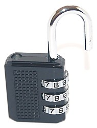 51614 Password Unlocked 3 Digit Password Luggage Lock Dail Lock and Password Lock