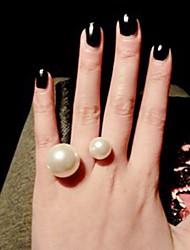 Women's Cuff Ring Imitation Pearl Euramerican Fashion Alloy Jewelry Daily 1pc