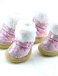 Собака Ботинки и сапоги Косплей Носки детские Красный Синий Розовый
