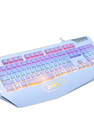 Dareu usb teclado de jogo com fio retroiluminado com cabo de 180 cm