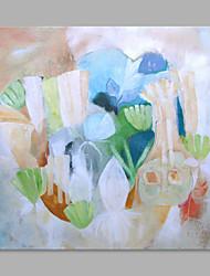 Peint à la main Moderne Style moderne Un Panneau Toile Peinture à l'huile Hang-peint For Décoration d'intérieur