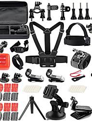 Kit Accessoires Style mini Extérieur Etui/Housse Multi Fonction Sacs pour appareil photo Réglable PourTous les appareils d'action Tous