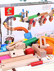 Track Sets For Gift  Building Blocks Wooden 1-3 years old 3-6 years old Toys 44Pcs