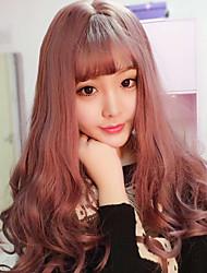 Sweet Lolita Curly Purple Red Lolita Wig