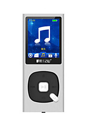 RUIZU X28 8G Silver Lossless Music Player with Screen Mini Walkman MP3 / MP4